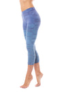 Hard Tail Forever - High Rise Capri Legging (W-614, Tie-Dye RH83)