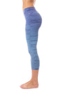 Hard Tail Forever - High Rise Capri Legging (W-614, Tie-Dye RH83) alt view 1