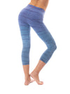 Hard Tail Forever - High Rise Capri Legging (W-614, Tie-Dye RH83) alt view 2