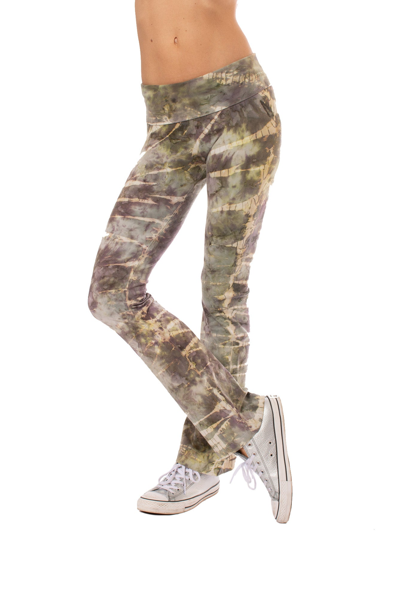 Hard Tail Forever - Roll Down Boot Leg Tie-Dye Stw1 (330, Tie-Dye STW1)