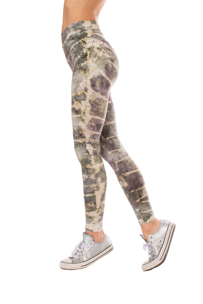 Hard Tail Forever - High Rise Ankle Legging Tie-Dye Stw1 (W-566, Tie-Dye STW1)