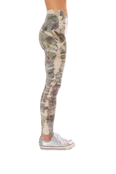 Hard Tail Forever - High Rise Ankle Legging Tie-Dye Stw1 (W-566, Tie-Dye STW1) alt view 1