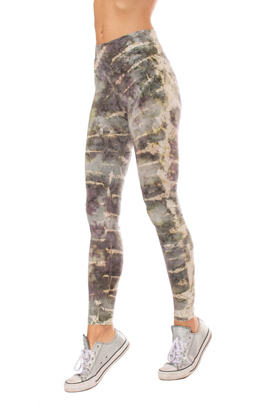 Hard Tail Forever - High Rise Ankle Legging Tie-Dye Stw1 (W-566, Tie-Dye STW1) alt view 6