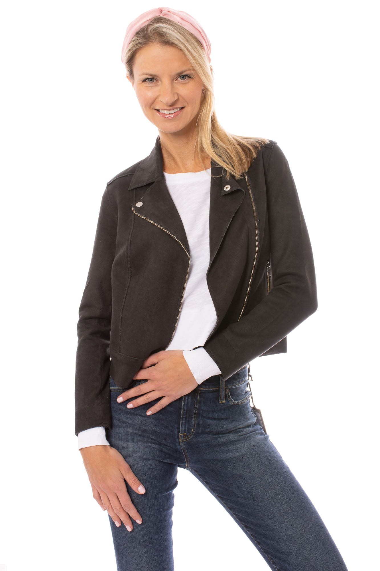 Level 99 - Tabitha Moto Jacket (SD5258, Black)
