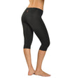 Roll Down Knee Legging (Style W-394, Black) by Hard Tail Forever