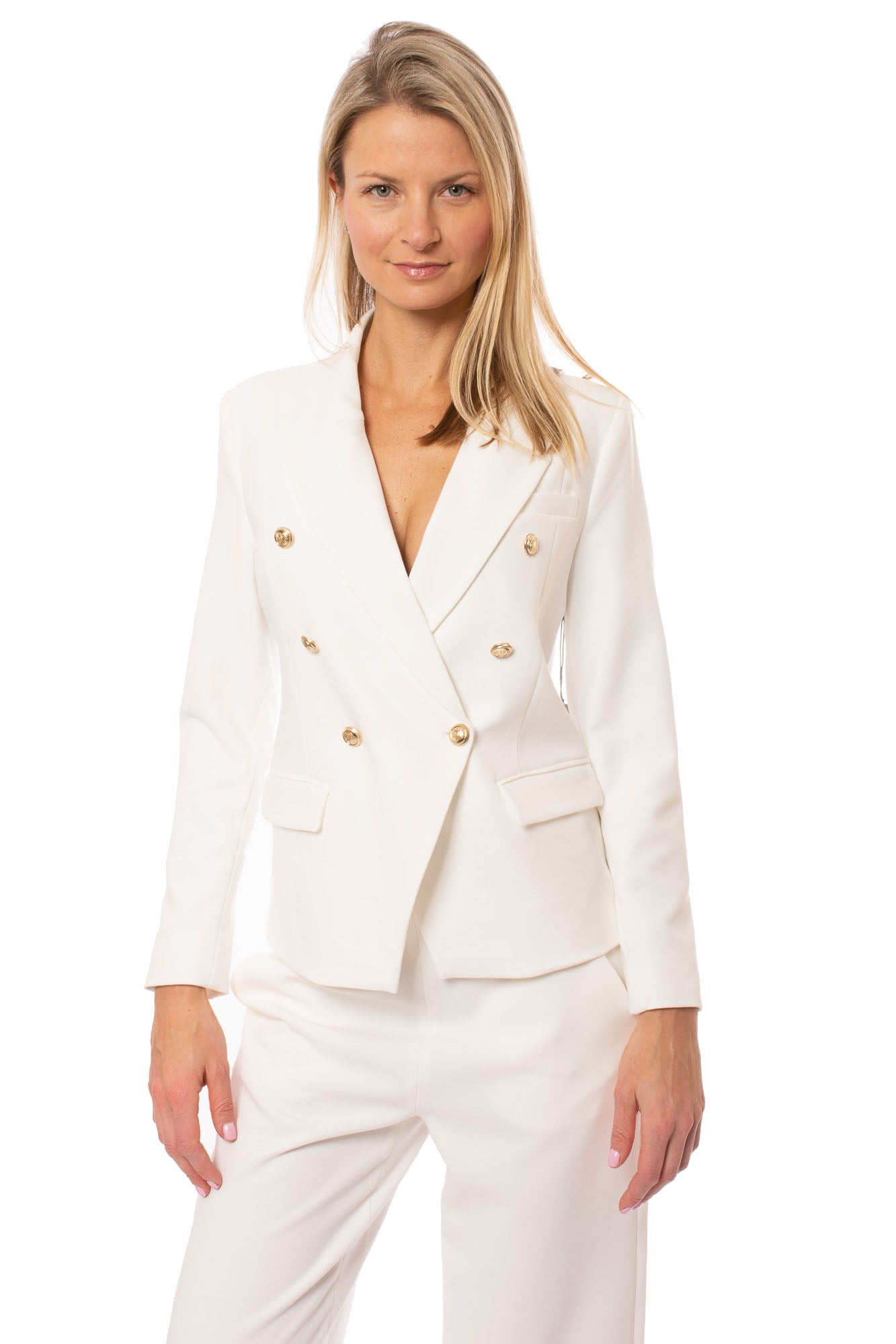 Tart Collections - Sabrina Blazer (T90733, White)