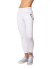 Lysse - Toothpick Crop Denim Jeans (12-1608-M9, White) alt view 1