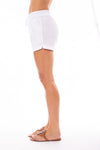 Elan - Drawstring Shorts w/Pockets (LL3042, White) alt view 1
