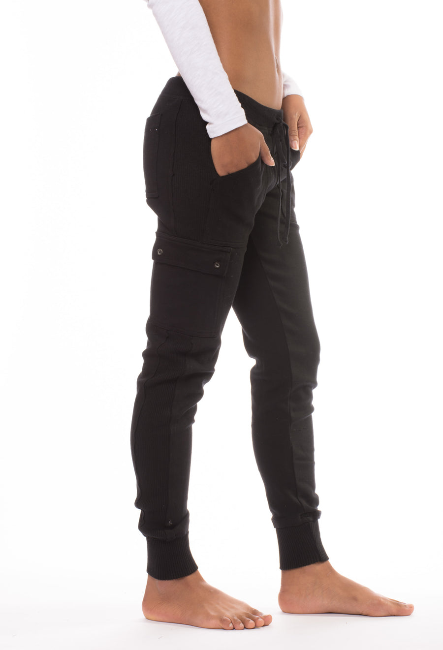 City Cargo Pant (Style DL-11, Black) by Hard Tail Forever