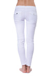 Kate Skinny Cargo Pant (Style ASS411, White) by Anatomie alt view 3