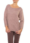 Moss Sweater (Style M5232, Rose) by Kerisma