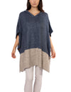 Kingston Poncho (Style M3397, Jean & Gray) by Kerisma
