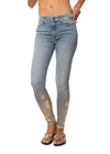 Black Orchid Denim Denim - Gisele Hi Rise Super Skinny W/Foil (B0294CBF, Light Denim)