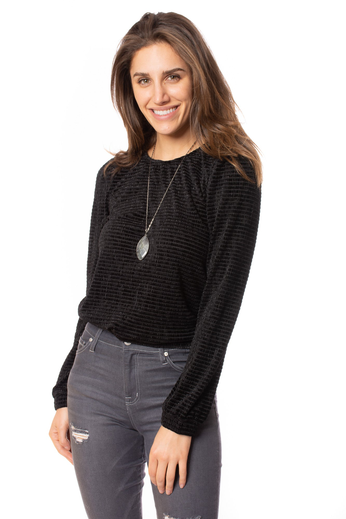 Heartland - Mollie Long Sleeve (207ax8f, Black) alt view 1