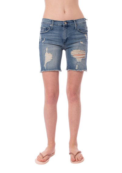 Black Orchid - Harper Boy Short (BO955VDO, Denim)