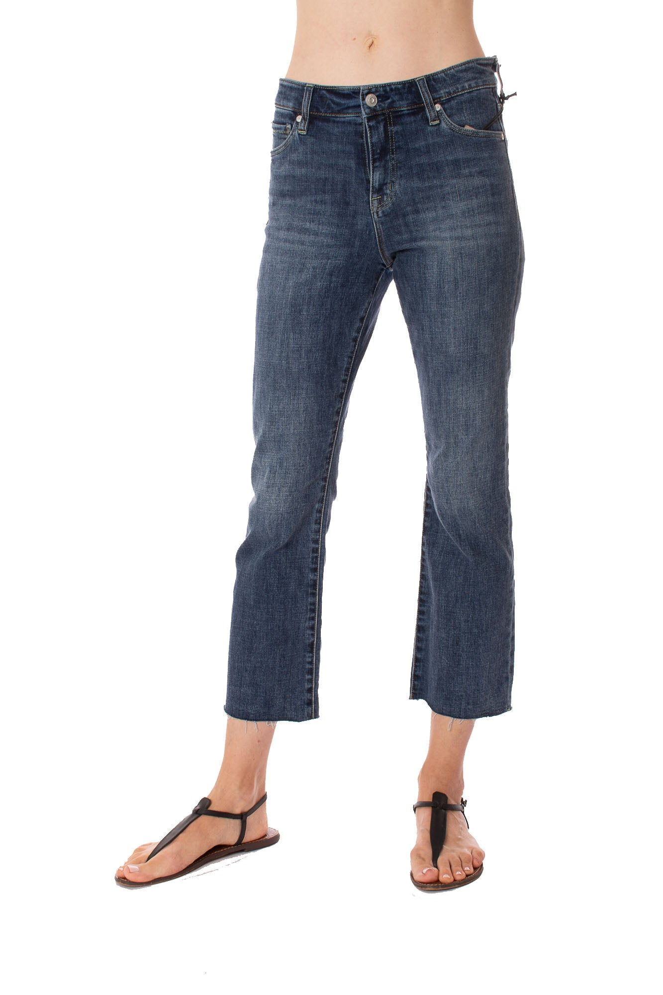 Stonefield - Royce Crop Jeans (SW0112VH, Denim)