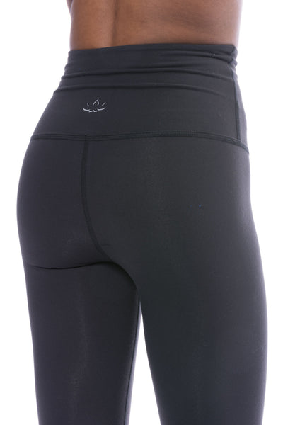 Take Me Higher Long Legging (Style SP3027, Black) by Beyond Yoga
