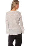 Fifteen Twenty - Ruffle Sleeve (1F15595, Heather Gray) alt view 2
