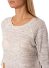 Fifteen Twenty - Ruffle Sleeve (1F15595, Heather Gray) alt view 4