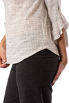 Fifteen Twenty - Ruffle Sleeve (1F15595, Heather Gray) alt view 5