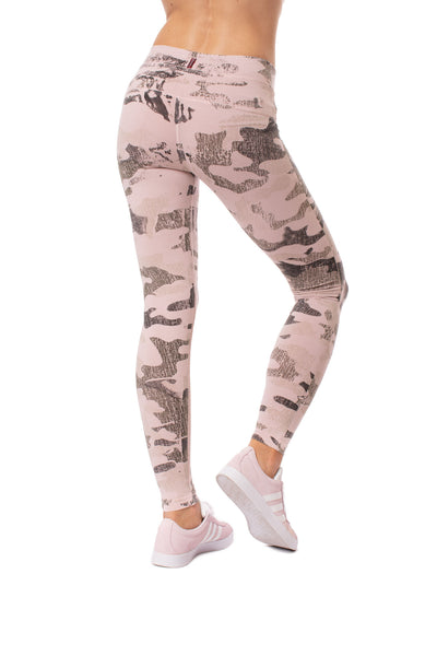 Hard Tail Forever - High Rise Ankle Legging (W-566, Rose Camo) alt view 2