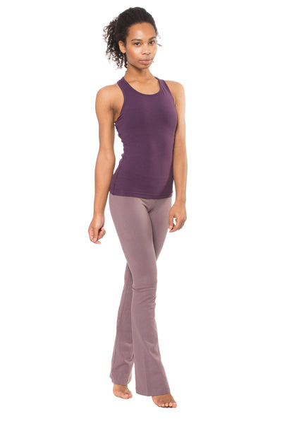 Open Back Tank (Style W-639, Concord Grape) by Hard Tail Forever alt view 2