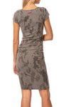 Hard Tail Forever - Sexy Cotton Lycra Ruched Camo Dress (SL-126, Gravel Camo) alt view 2