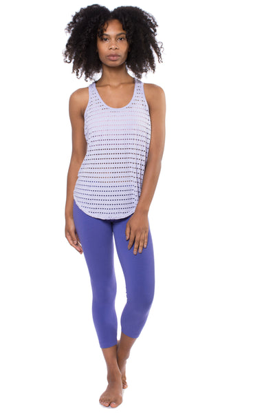 Holey Slouchy Tank (Style HOL-01, Violet) by Hard Tail Forever