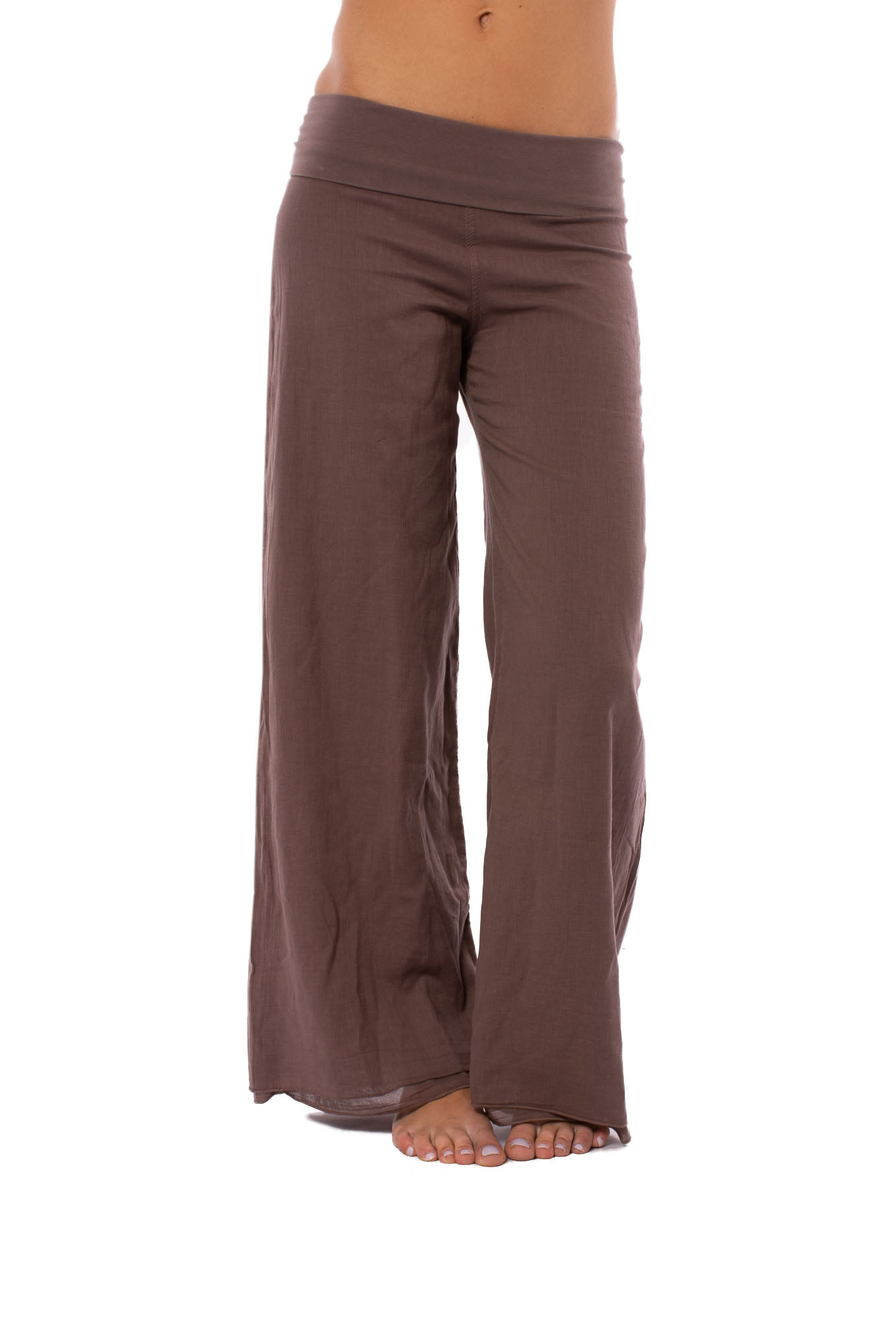 Hard Tail Forever - Double Layered Voile Pant (VL-29, Mocha)