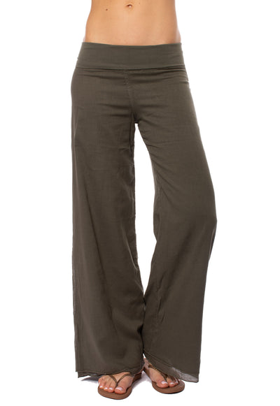 Hard Tail Forever - Double Layered Voile Pant (VL-29, Olive)