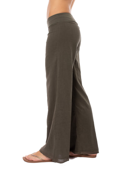 Hard Tail Forever - Double Layered Voile Pant (VL-29, Olive) alt view 2