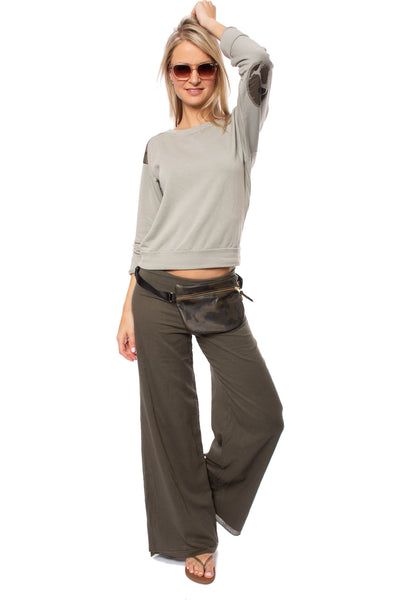 Hard Tail Forever - Double Layered Voile Pant (VL-29, Olive) alt view 7