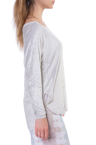 Velore Top (Style PANE-05, Linen) by Hard Tail Forever alt view 2