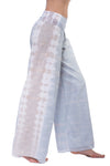 Double Layererd Voile Roll Down Pant (Style VL-29, Tie-Dye ESS2) by Hard Tail Forever