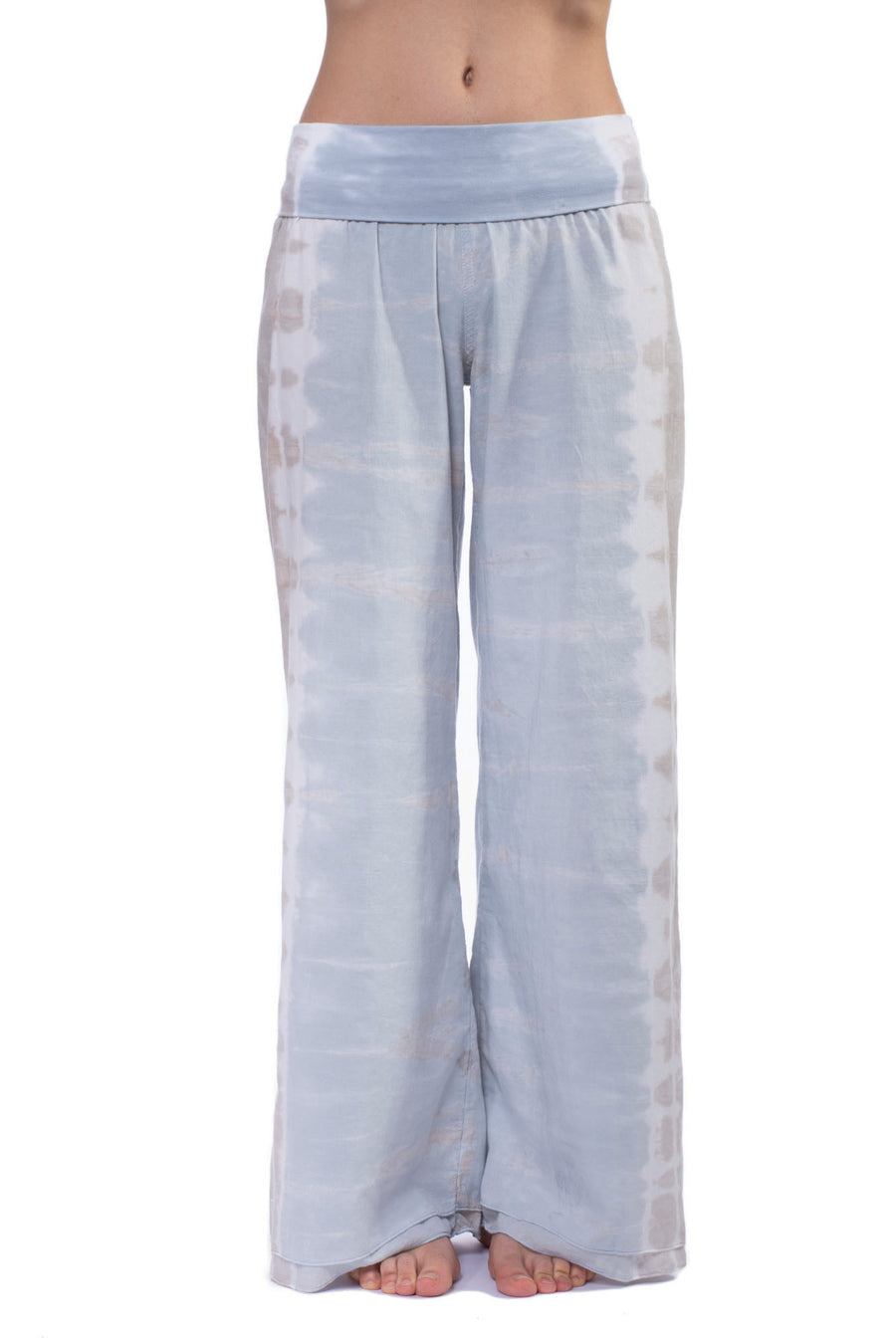 Double Dry Voile Roll Down Pant (Style VL-29, Tie-Dye ESS2) by Hard Tail Forever