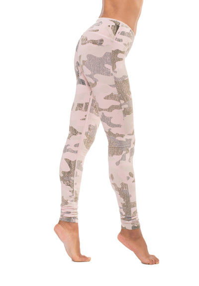 Hardtail Flat Waist Ankle Legging (Style W-452, Bare Skin Camo) by Hard Tail Forever alt view 1