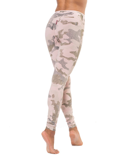 Hardtail Flat Waist Ankle Legging (Style W-452, Bare Skin Camo) by Hard Tail Forever alt view 2