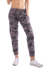 Slouchy Drawstring Jogger (Style CAMF-05, Camo Wood) by Hard Tail Forever