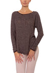 Birdseye Long Sleeve Raglan (Style BIRD-24, Mocha) by Hard Tail Forever