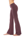 Hard Tail Forever - Hi Rise Flat Waist Flare (W-919, Dark Night Mauve)