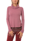 Hard Tail Forever - Thermal Long Sleeve Funnel Neck (TH-104, Dusty Rose)