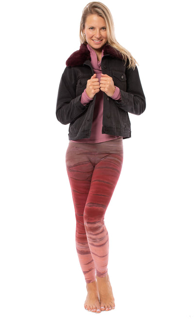 Hard Tail Forever - Thermal Long Sleeve Funnel Neck (TH-104, Dusty Rose) alt view 6