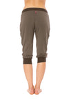 Hard Tail Forever - Fleece Capri Jogger W/Racer Stripe (CLO-16, Thyme) alt view 3