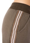 Hard Tail Forever - Fleece Capri Jogger W/Racer Stripe (CLO-16, Thyme) alt view 5