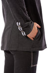 Hard Tail Forever - Fleece Agency Jacket (CLO-12, Black) alt view 5
