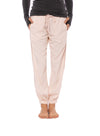 Hard Tail Forever - Rayon Twill Pant W/Satin Racer Stripe (TWIL-08, Rose)