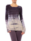 Hard Tail Forever - Supplex Lycra Long Sleeve Scoop Tee (SL-69, Tie-Dye RH79)