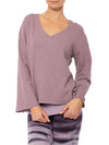 Hard Tail Forever - French Terry Flair Sleeve V Neck Pullover (HSFT-01, Lavender)