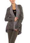 Slouchy Cardigan (Style SHE-02, Thyme Camo) by Hard Tail Forever