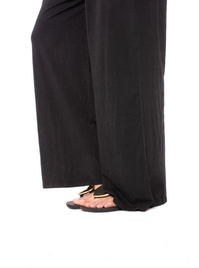 Bobi - Wide Leg Jumper (519-26273, Black) alt view 6
